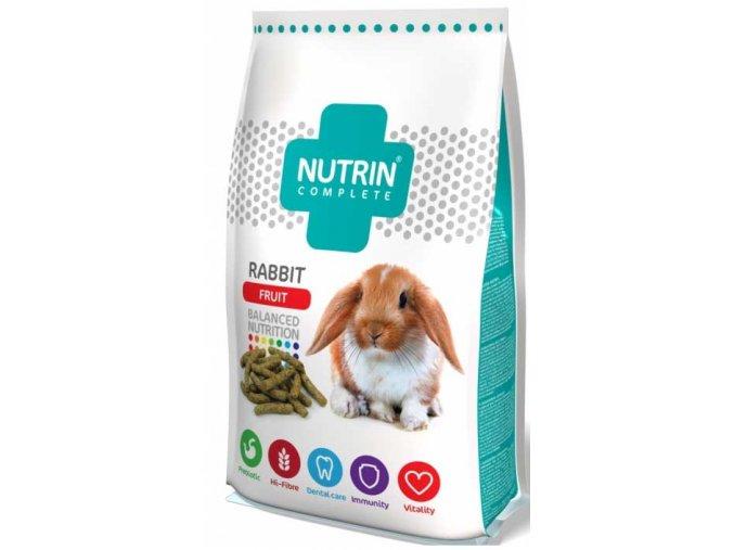 Nutrin Complete Králík Fruit 400 g