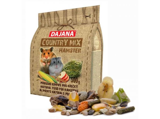 COUNTRY MIX Hamster 500 g