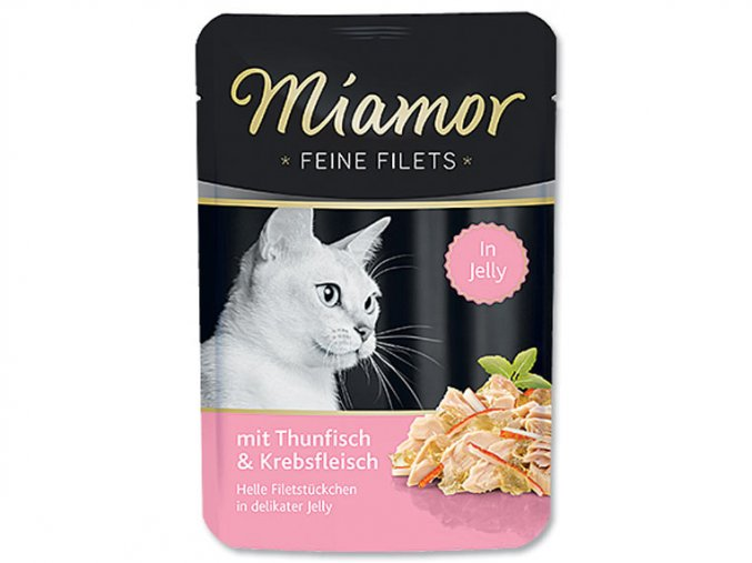 MIAMOR Filet tuňák + krab 100g