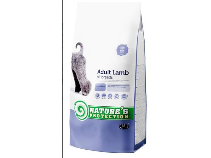 Nature's Protection Dog Dry Adult Lamb 500 g