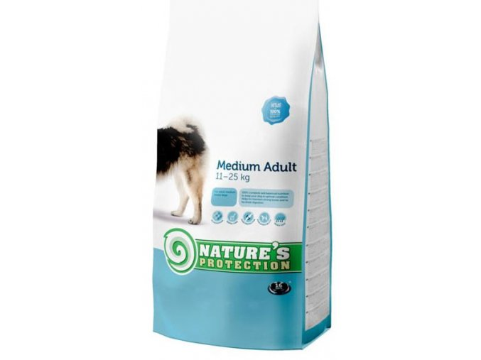 Nature's Protection Dog Dry Adult Medium 4 kg
