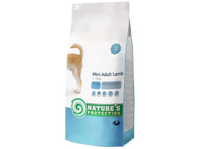 Nature's Protection Dog Dry Adult Mini Lamb 2 kg
