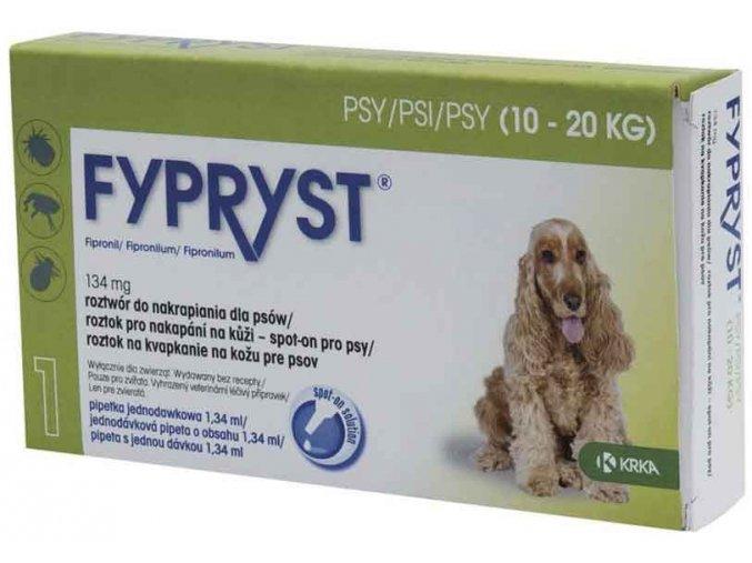 Fypryst spot on Dog M 10-20kg 1x1,34ml
