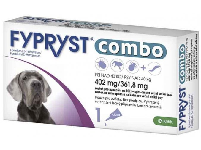 Fypryst Combo spot on XL 402/361,8mg 1x4,02mg