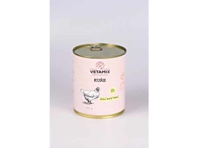 1/4 kuřete v konzervě 850 g