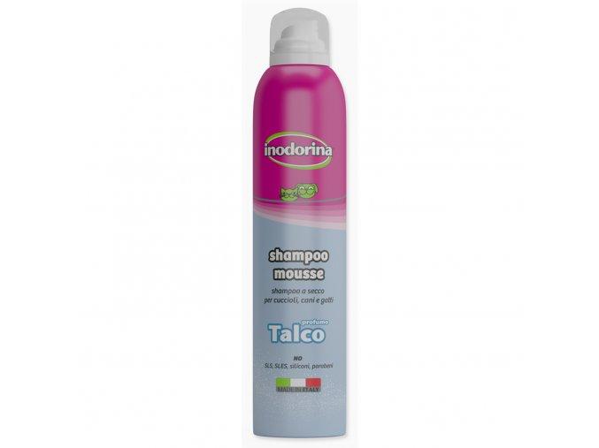 Šampon INODORINA suchá pěna Baby Powder 300ml