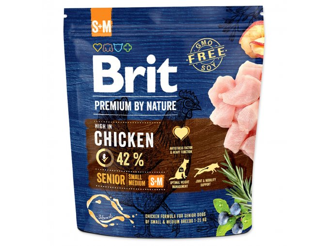 BRIT Premium by Nature Senior S+M 1kg