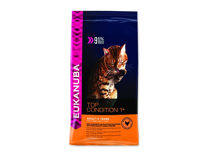EUKANUBA Cat Adult Top Condition 1+ 400 g