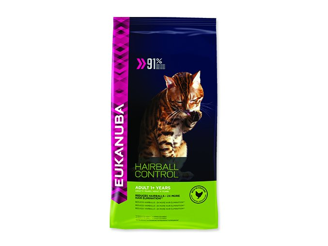 EUKANUBA Cat Adult Hairball Control 400 g
