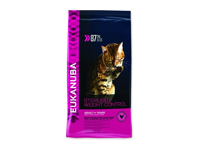 EUKANUBA Cat Adult Sterilised / Weight Control 400 g