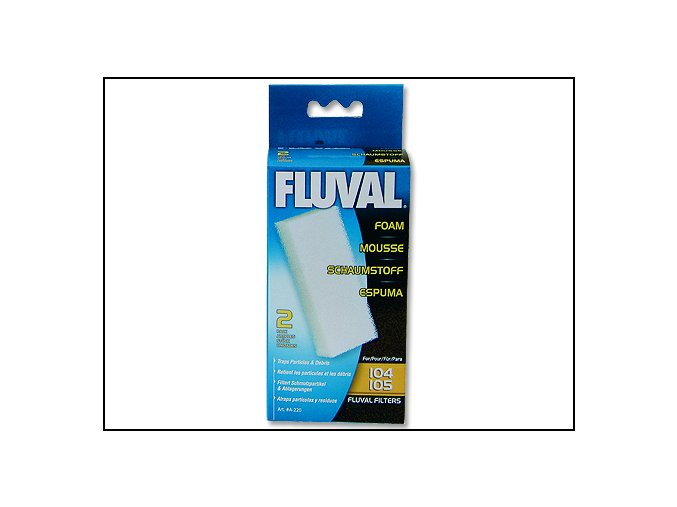 Náplň molitan FLUVAL 104, 105 2 ks