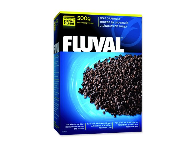 Náplň rašelina FLUVAL granulovaná 500 g