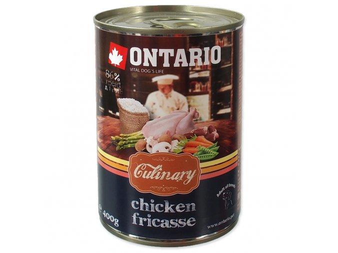 Konzerva ONTARIO Culinary Chicken Fricasse 400g
