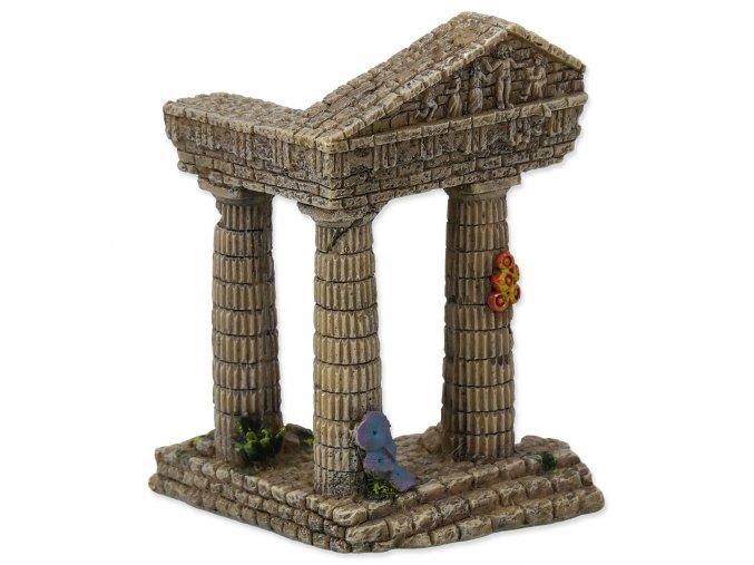 Dekorace AQUA EXCELLENT Zřícenina chrámu 7,5 cm
