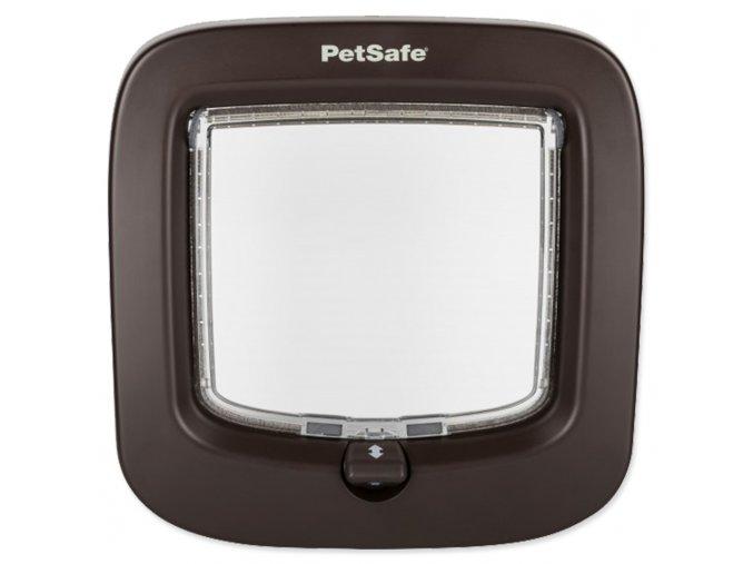 Dvířka PETSAFE plastová hnědá 22.55x9.21x22.86 s transp. flapem