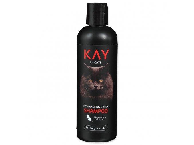Šampon KAY for CAT proti zacuchání a plstnatění 250ml
