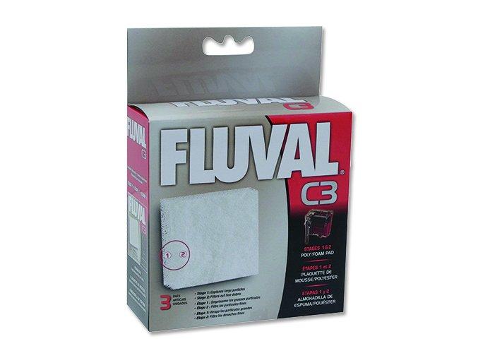 Náplň molitan polyester FLUVAL C3 3 ks