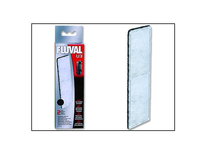 Náplň vata uhlíková FLUVAL U3 2 ks