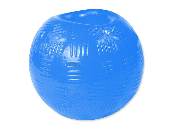 Hračka DOG FANTASY míček gumový modrý 8,9 cm