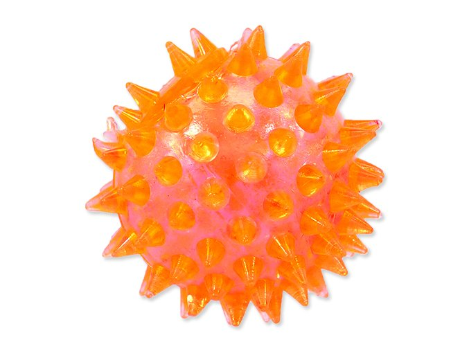 Hračka DOG FANTASY míček pískací oranžový 5 cm