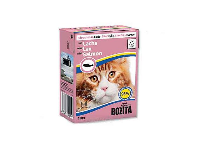 BOZITA  - Losos kousky v omáčce Tetra Pak 370 g