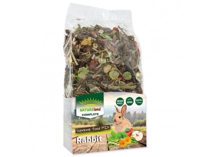 NATURE LAND Complete pro králíky a zakrslé králíky 600 g