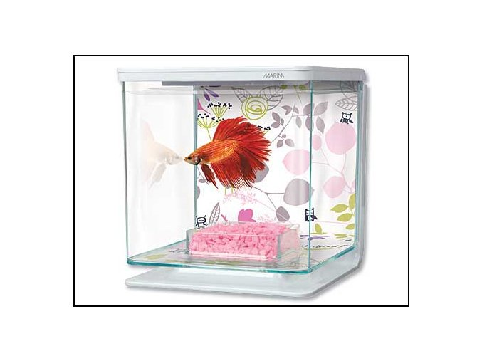 Akvárium MARINA Betta Kit Floral 2 l