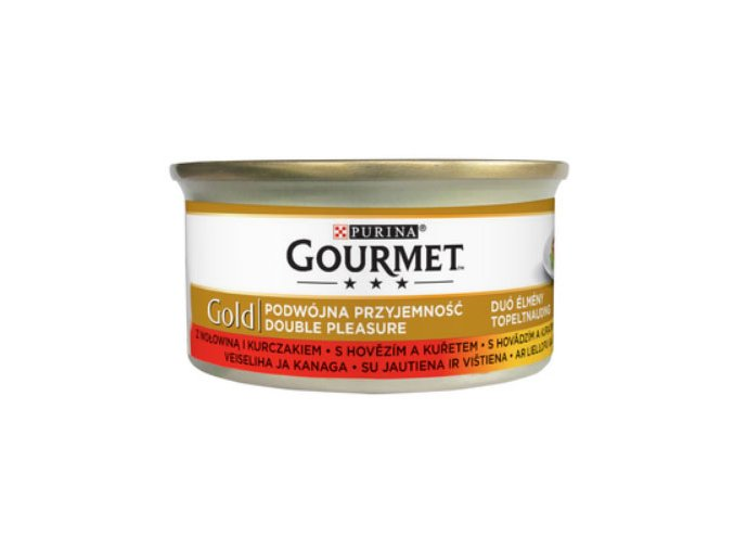 gourmet gold hovezi kureci