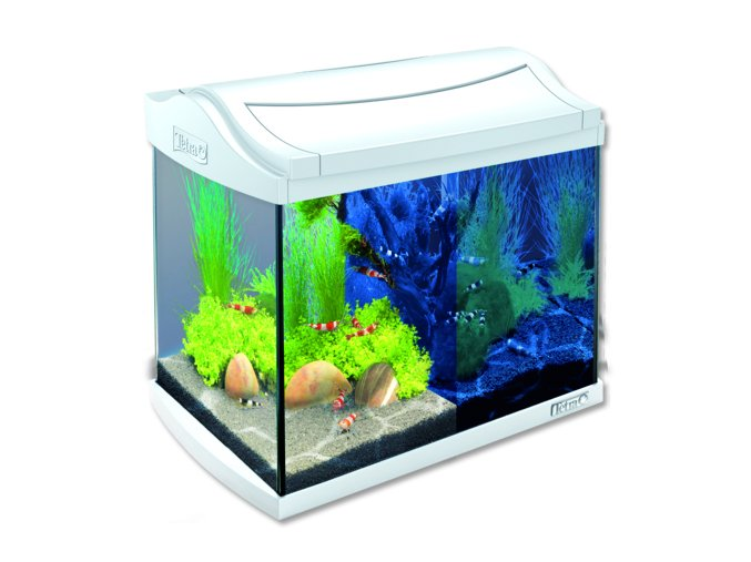 Akvárium set TETRA AquaArt LED bílé 20l
