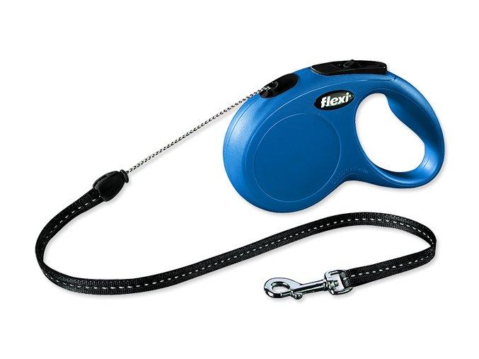 Vodítko FLEXI Classic New lanko modré S 5 m 12 kg