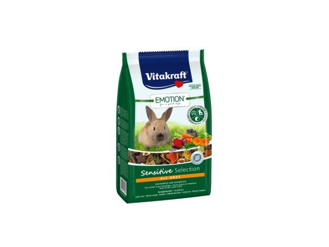 Vitakraft Emotion Sensitive Selection pro králíky 600 g