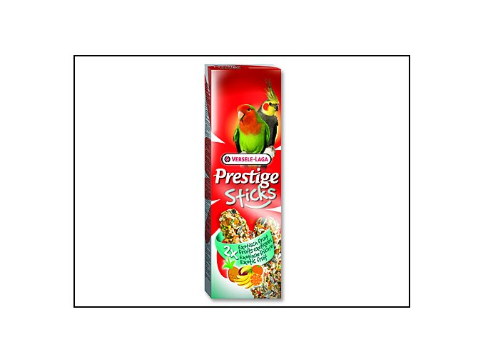 Tyčinky VERSELE-LAGA Prestige exotické ovoce pro střední papoušky 140 g
