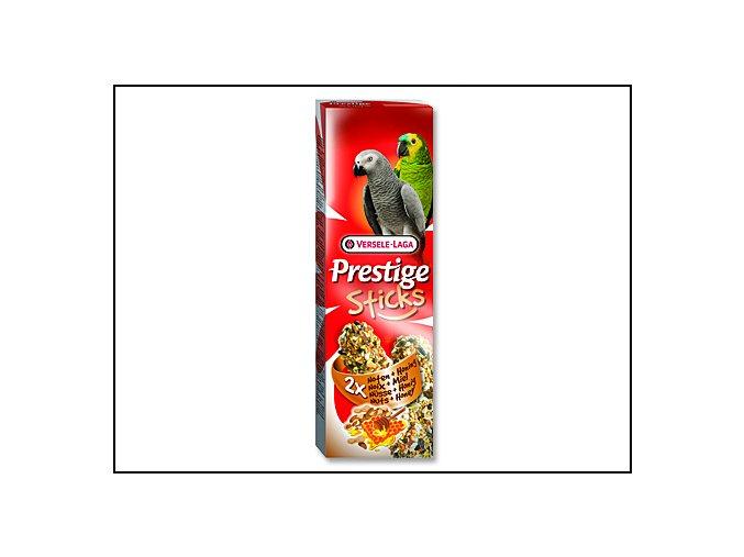 Tyčinky VERSELE-LAGA Prestige ořechy a med pro velké papoušky 140 g
