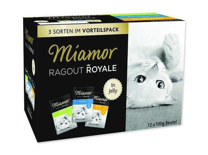 MIAMOR Kapsička Ragout royale kuře, tuňák, králík v želé multipack 1200 g