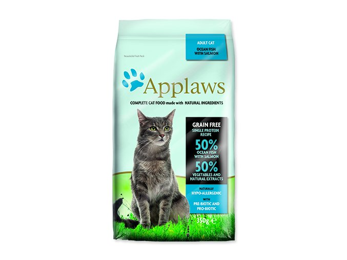 Applaws Cat Adult Ocean Fish & Salmon 350 g