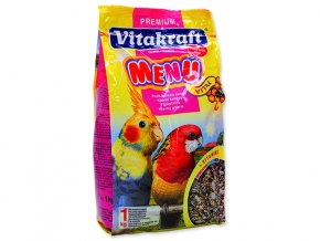Menu VITAKRAFT honey gross sittich 1 kg