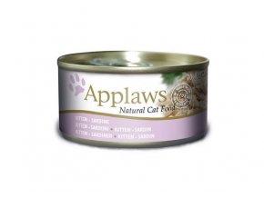 Applaws konzerva Cat Kitten jemná Sardinka 70 g