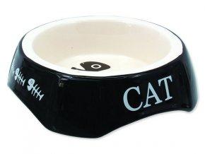 Miska MAGIC CAT potisk Cat černá 15 cm