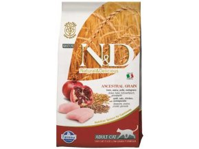 N&D Low Grain Cat Adult Chicken & Pomegranate