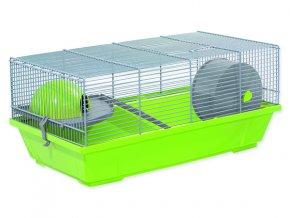 Klec SMALL ANIMALS Erik šedo-zelená se šedou výbavou 50 cm