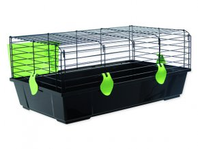 Klec SMALL ANIMALS Michal černá se zelenou výbavou100 cm