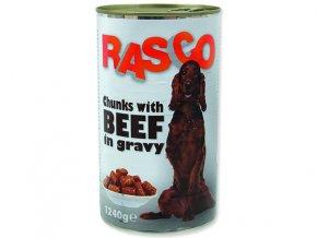 RASCO konzerva hovězí kousky ve šťávě 1240g
