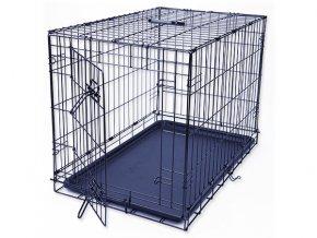 Klec DOG FANTASY skládací černá M - 1 dveře