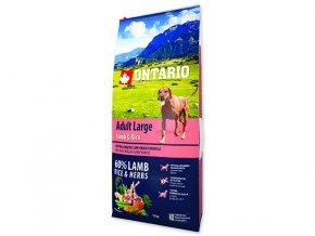 ONTARIO Adult Large Lamb & Rice & Turkey 12kg
