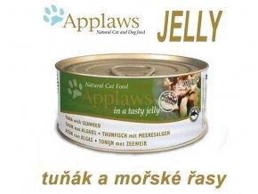 Applaws konzerva Cat Jelly tuňák a mořské řasy 70 g