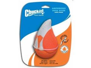 Chuckit! Kachna potápěč - oranžová - Large
