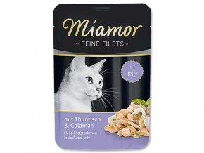 MIAMOR kapsička Filet tuňák +kalamáry v želé 100g