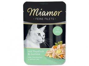 MIAMOR kapsička Filet tuňák + zelenina v želé 100g