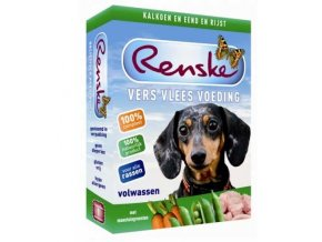 Renske Fresh Menu Dog 395g - Adult Turkey & Duck