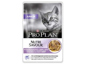 Pro Plan Cat kapsička Junior Turkey 85 g